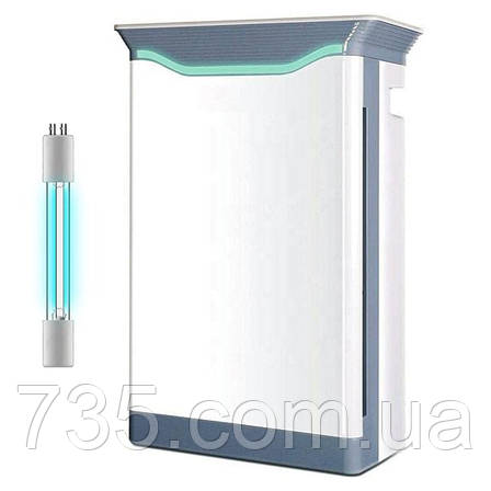 """Бактерицидный очиститель воздуха с УФ-лампой """"Tower-101"""": 8-ступенчатая очистка, кварцевание воздуха, фото 2"""