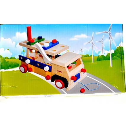 Дерев'яна вантажівка C407