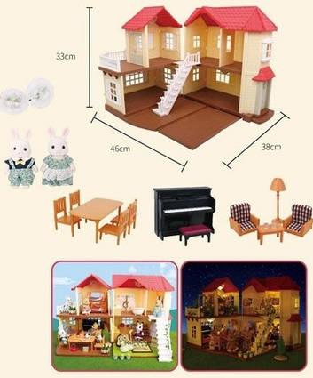 Будинок для маленьких ляльок або фігурок S01