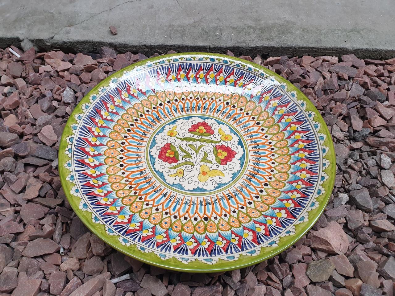Блюдо ляган узбекское для плова д42