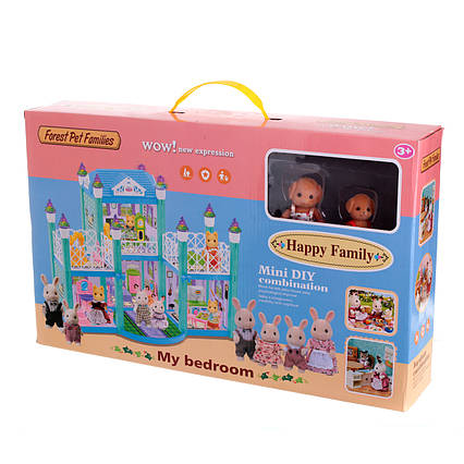 Ігровий будиночок Happy Family Флоксовые Тварини 20053
