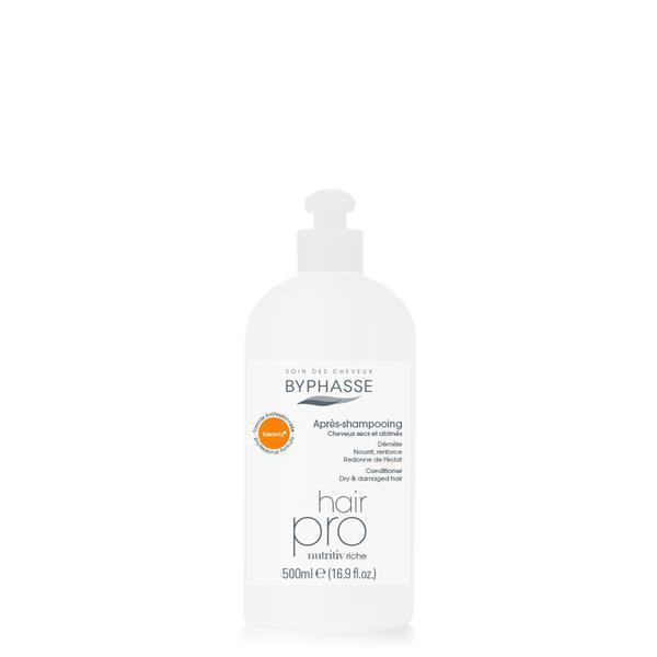 Byphasse Hair Pro Nutriv Riche Conditioner Кондиционер для питания волос кондиционер 500 мл