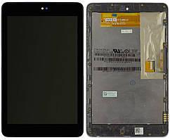 Дисплей для планшета Asus Google Nexus 7 ME370, ME370T WiFi + Touchscreen with frame Black