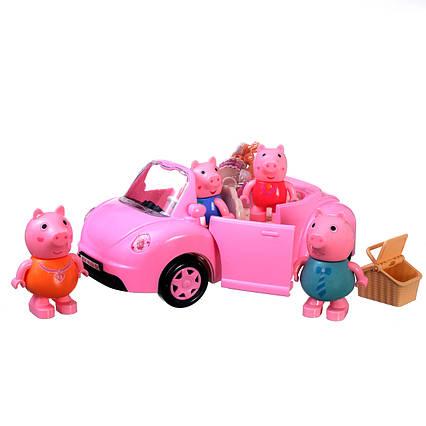 Ігровий набір Свинка Пеппа сімейний автомобіль Y992