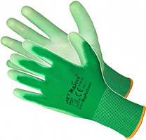 Перчатки RNYPO GREEN  с полиуретановым покрытием