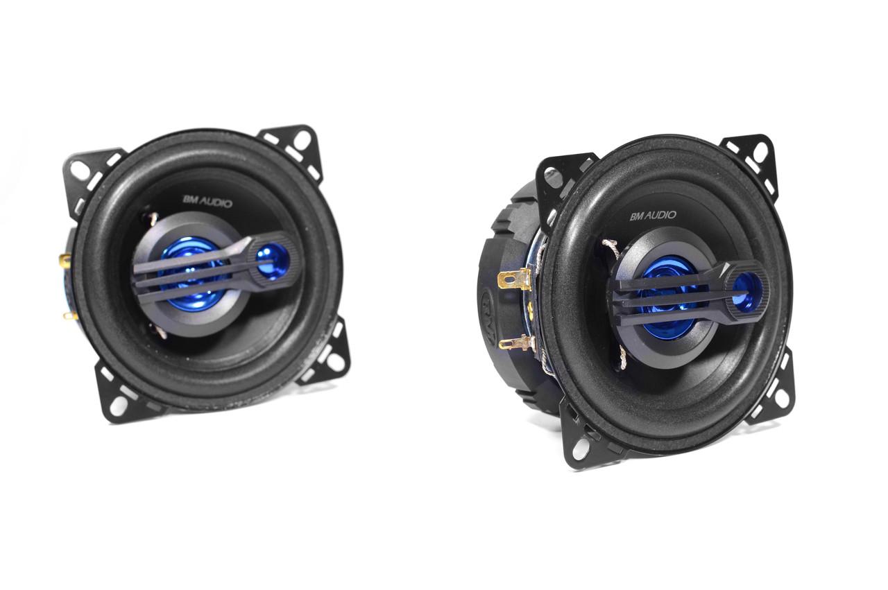Автомобільні динаміки Boschmann BM AUDIO XJ3-443B 3-х смугові 10 см 270 Вт
