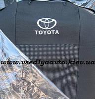 Авточехлы TOYOTA Yaris (Тойота Ярис) 2005-2012 гг.