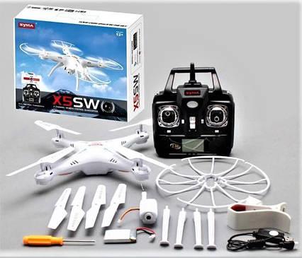 Квадрокоптер X5SW з камерою WiFi Syma