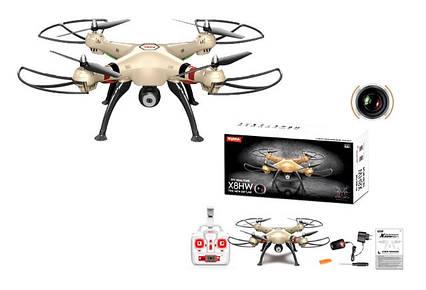 Квадрокоптер Syma X8HW RTF 4CH 2.4 G з барометром і Wi-Fi FPV камерою