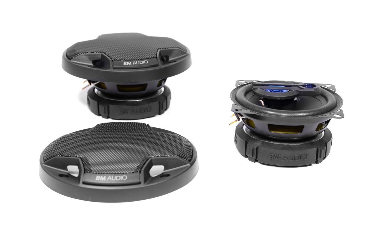 Авто-акустика Boschmann BM AUDIO XJ3-443B 270W 10 см 3-х полосная (динамики)