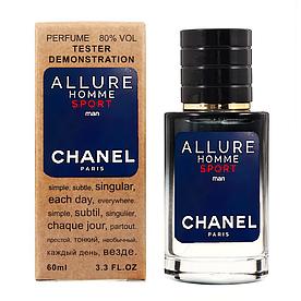 Chanel Allure Homme Sport TESTER LUX, мужской, 60 мл