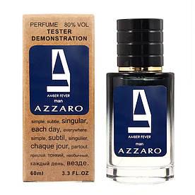 AZZARO Amber Fever TESTER LUX, мужской, 60 мл