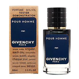 Givenchy Pour Homme TESTER LUX, мужской, 60 мл