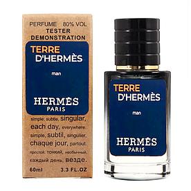Hermes Terre D`Hermes TESTER LUX, мужской, 60 мл
