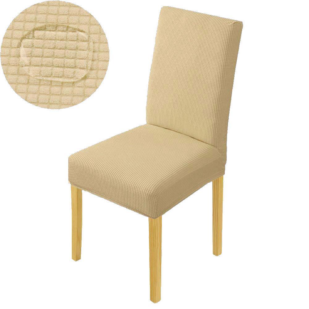 Чехлы на стулья со спинкой без юбки (Турция) кофе с молоком 3