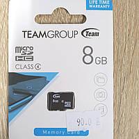 Карта памяти TeamGroup MicroSD - 8Gb