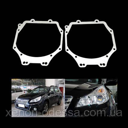Переходные рамки для замены линз Subaru Outback 2012-2014, Toyota Rav 4 2009-2012, Patrol 2016, Pajero 4 Wagon, фото 2