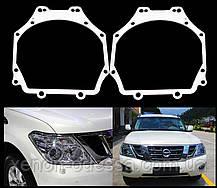 Переходные рамки для замены линз Subaru Outback 2012-2014, Toyota Rav 4 2009-2012, Patrol 2016, Pajero 4 Wagon, фото 3
