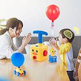 Аэромобиль balloon car машинка з кулькою Аеродинаміці Reaction FORCE Principle   Інтерактивна іграшка, фото 3