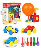 Аэромобиль balloon car машинка з кулькою Аеродинаміці Reaction FORCE Principle   Інтерактивна іграшка, фото 8