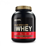 Протеин Optimum Nutrition 100% Whey Gold Standard 2270 г клубника (5060469988542)