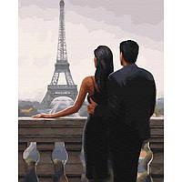 Картина за номерами Бажаний париж 40х50 см Brushme (Без коробки) расскраска за номерами