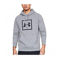 Толстовка Rival Fleece Logo Hoodie Grey - Under Armour XL (192006916031)