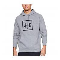 Толстовка Rival Fleece Logo Hoodie Grey - Under Armour XXL (192006916277)