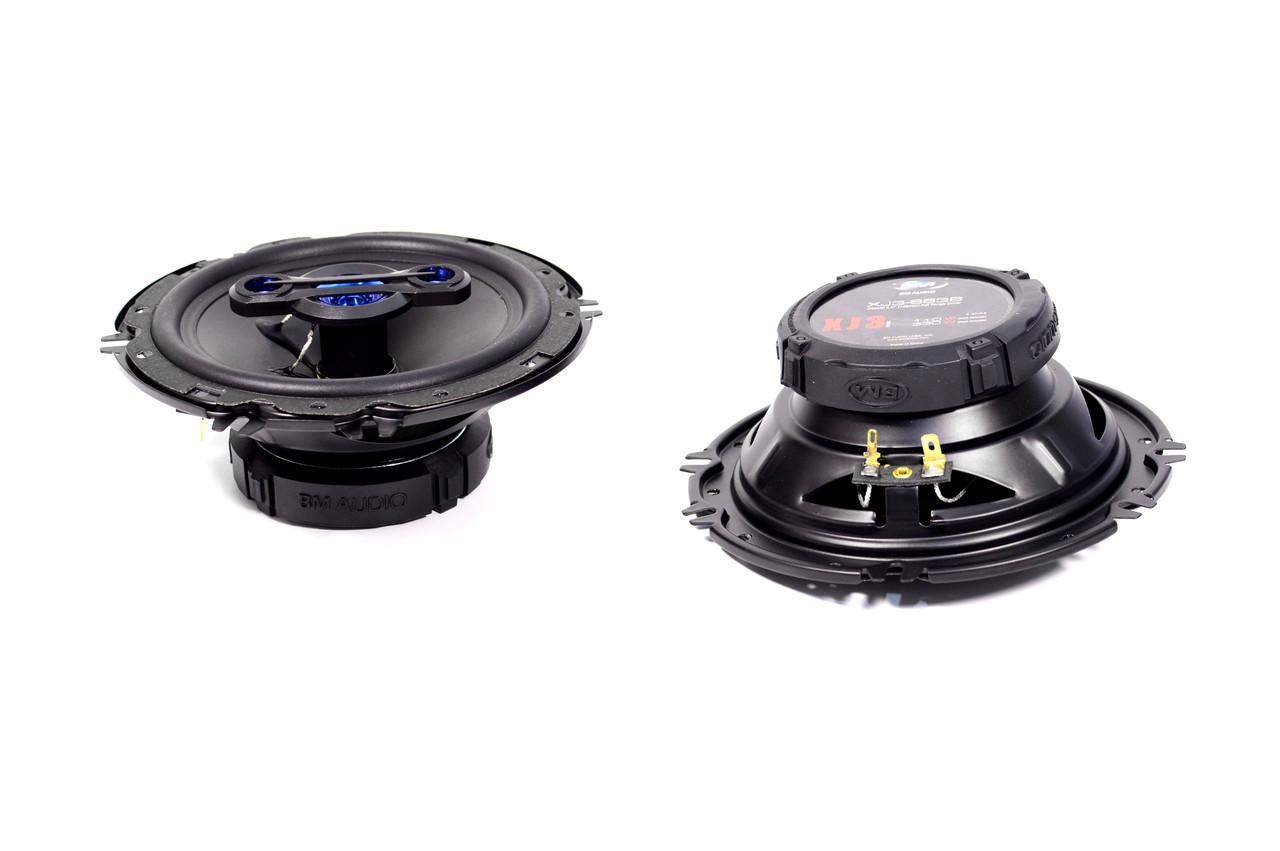 Автомобильная акустика BOSCHMANN BM AUDIO XJ3-663B 330W 4х полосная 16 см