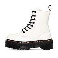 Женские зимние ботинки Мартинс ( Dr. Martens Jadon White )