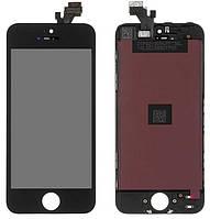 Дисплей Apple iPhone 5 с тачскрином и рамкой, (IPS), Black