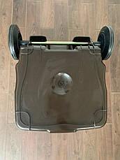 Євроконтейнер пластиковий ESE, 240 л, коричневий, фото 3