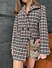 Женский двубортный пиджак, в расцветках ЕД-2-0121, фото 2