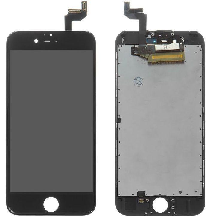 Дисплей Apple iPhone 6S с тачскрином и рамкой, (TFT), Black