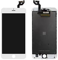 Дисплей Apple iPhone 6S Plus с тачскрином и рамкой, (TFT), White