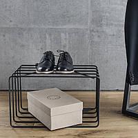 Гнутая обувная тумба в скандинавском стиле