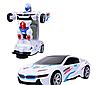 Машинка радіокерована трансформер Car Robot Bugatti 1:14 DEFORMATION NO:577, фото 4