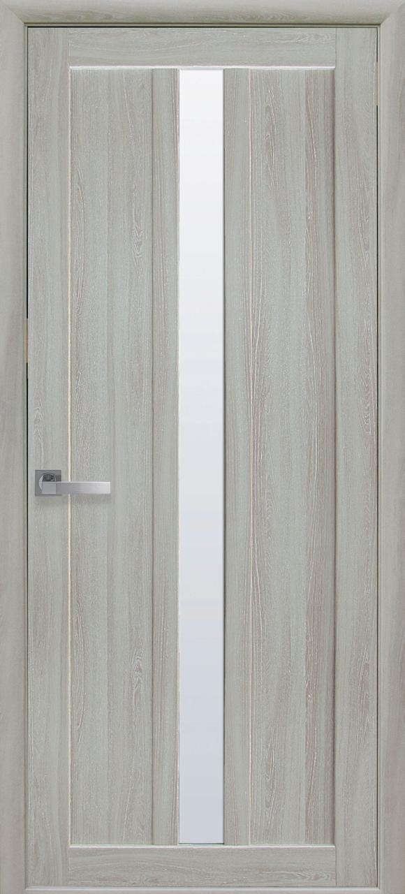 """Дверное полотно Новый стиль """"Марти"""" ясень патина К80"""