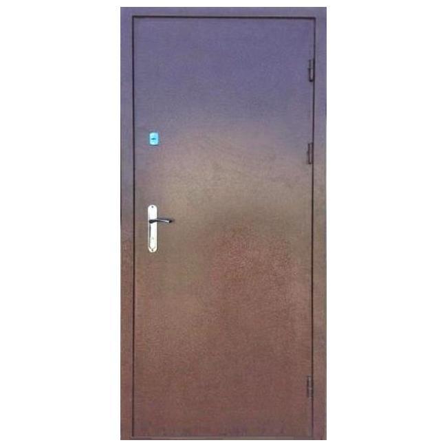 Дверь входная металлическая (960 мм) левая