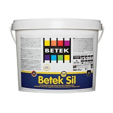 Краска Betek Sil, 7,5л., водоэмульсионная силиконовая