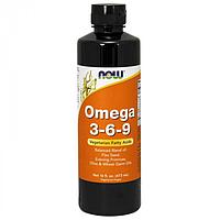 Жидкая добавка Омега 3-6-9 - NOW Foods 473 ml (733739018380)