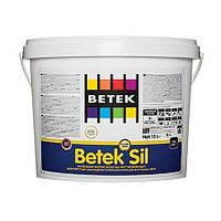 Краска Betek Sil, 1,5л., водоэмульсионная силиконовая