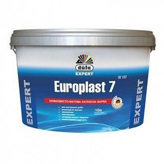 Краска Dufa Europlast 7 DE107 шелковисто-матовая, 10 л