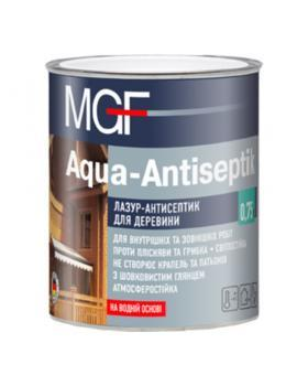 """Лазурь для дерева MGF """"Aqua-antiseptik"""" палисандр 0,75 л"""