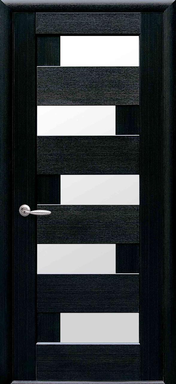 """Межкомнатные двери Новый Стиль ПВХ """"Пиана"""" К60 венге"""