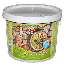 Полуматовый лак для камня Eskaro Granit Lakk 9,5 л
