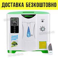 Кислородный концентратор для дома, концентратор кислорода, DEDAKJ DE-2A генератор дает 2-9 литра в минуту