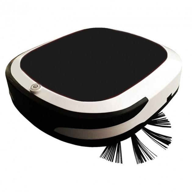 Робот пылесос беспроводной 6 в 1 iCleaner 3D 16001 мощный, влажная уборка черный