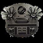 Робот пылесос беспроводной 6 в 1 iCleaner 3D 16001 мощный, влажная уборка черный, фото 2