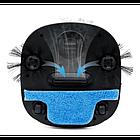 Робот пылесос беспроводной 6 в 1 iCleaner 3D 16001 мощный, влажная уборка черный, фото 3